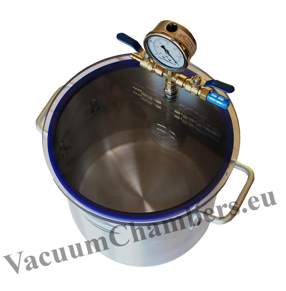 30cm vakuumkammer 20l effiziente vakuumpumpe. Black Bedroom Furniture Sets. Home Design Ideas